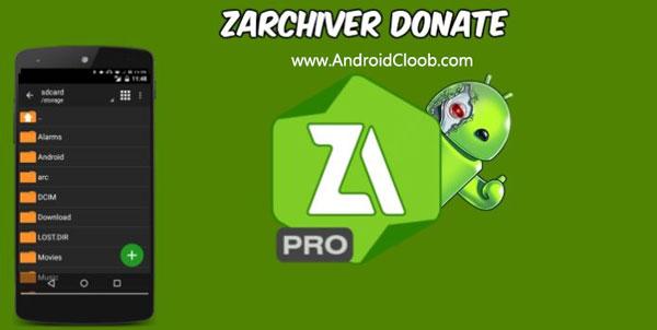 ZArchiver Donate دانلود ZArchiver Pro v0.9.2 نرم افزار باز كردن فایل فشرده اندروید