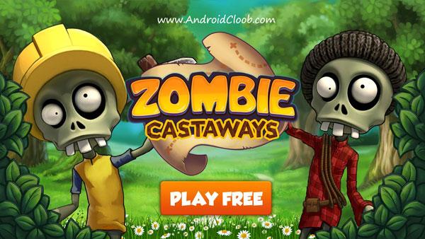 Zombie Castaways دانلود Zombie Castaways v2.2.3 بازی زامبی های دور افتاده اندروید + مود