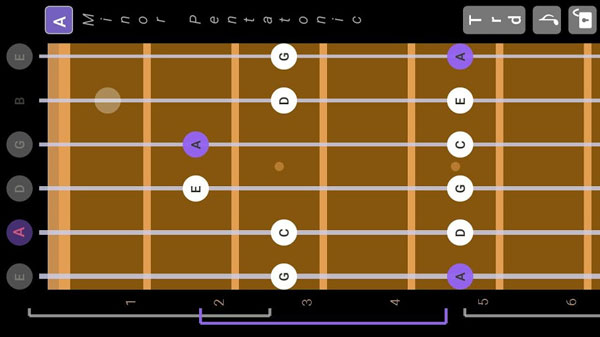 guitar scales and patterns دانلود Guitar Scales & Patterns v1.22 نرم افزار شبیه ساز گیتار اندروید