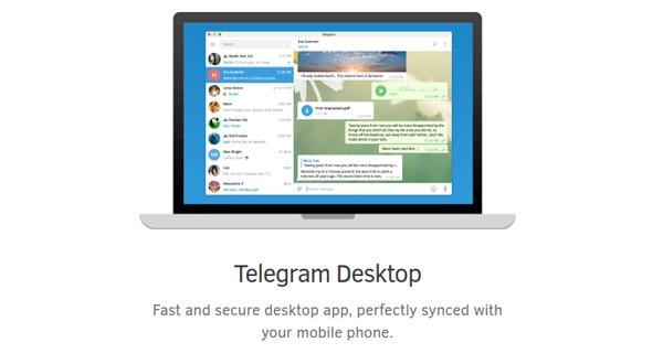 telegram win دانلود Telegram Desktop + Portable   تلگرام برای کامپیوتر و دسکتاپ
