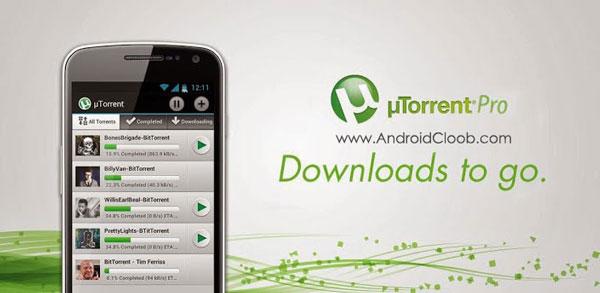 uTorrent Pro Torrent App دانلود از تورنت µTorrent® Pro   Torrent App v4.10 اندروید